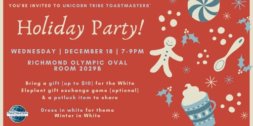 Holiday Party: Winter in White