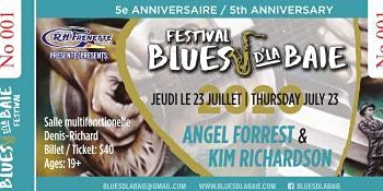 Angel Forrest &  Kim Richardson - Blues d'la Baie