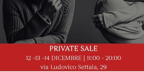 Private Sale | Settala 29. Svendita eccezionale. biglietti