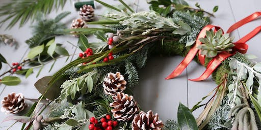 Build-a-Bloom  Invites You to Attend A Holiday Wreath Making Workshop