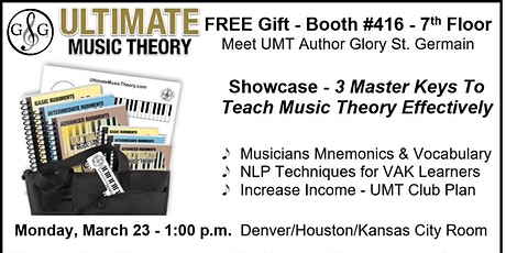 MTNA - Ultimate Music Theory Showcase - 3 Master Keys To Teach Music Theory tickets