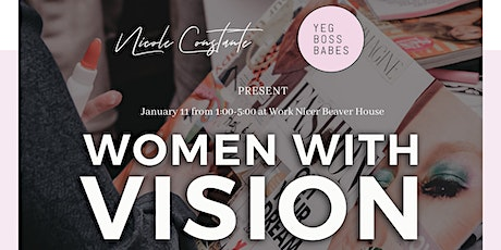 Women With Vision: 2020 Vision Board Workshop tickets