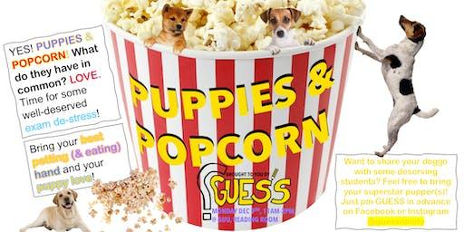 Puppies and Popcorn!
