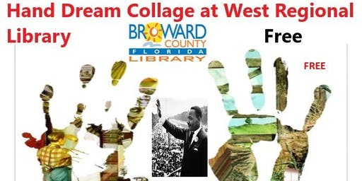 8 to 88 Years Old at West Regional Library: Hand Dream Collage, Part 2