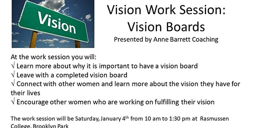 1-4-20 Vision Work Session: Vision Boards