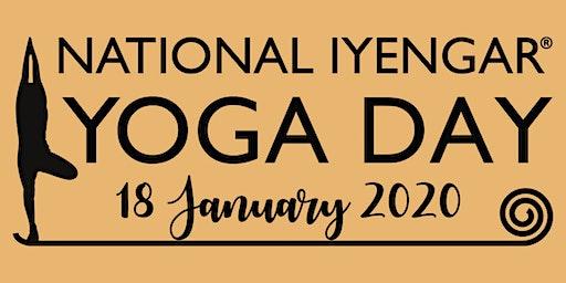National Iyengar Yoga Day - Free General Class