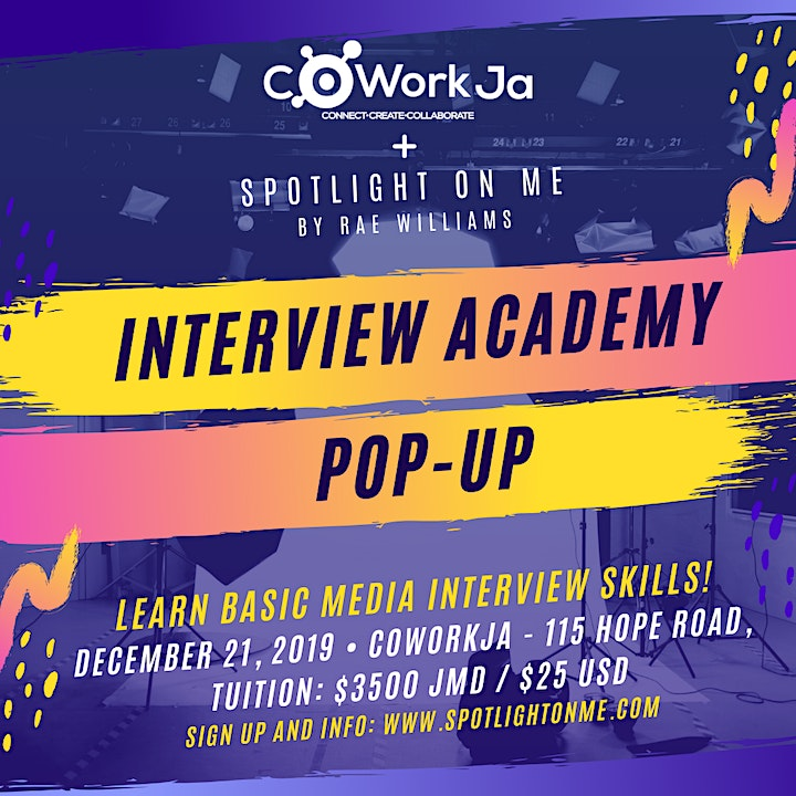 Spotlight On Me: Interview Academy Pop-Up image