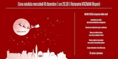 Cena di Natale | Siamo Trieste biglietti