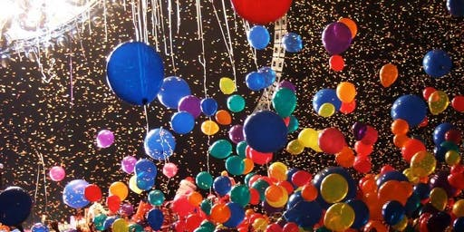 NYE Noon Party/Balloon Drop