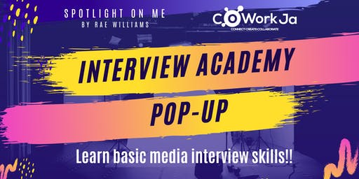 Spotlight On Me: Interview Academy Pop-Up