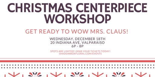 December Floral Design Workshop