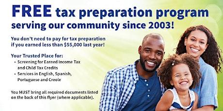 VITA Income Tax Services tickets