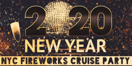 New York City New Years Eve Fireworks Cruise Boat Party tickets