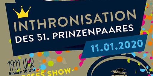 Inthronisation des 51. Schwabacher Prinzenpaares