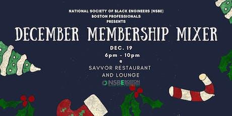 NSBE December Membership Mixer & Holiday Party tickets