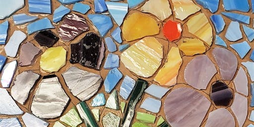 Ring of Care Glass Mosaic Workshop 1/12/2020