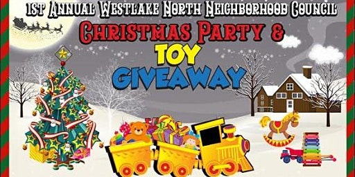 1st Annual Westlake North NC Christmas Party & Toy Giveaway