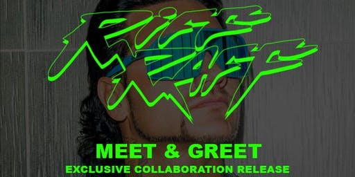 RIFF RAFF MEET & GREET / EXCLUSIVE COLLABORATION RELEASE 8103 CLOTHING
