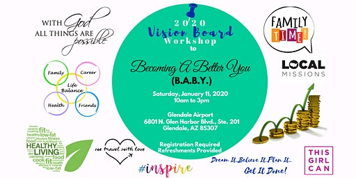 20/20 Vision Board Workshop - Becoming a Better You