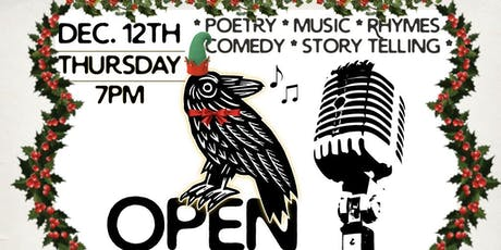 Open Mic Night at Charm City Books Jingle Jam tickets