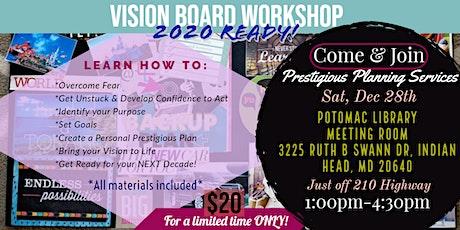Prestigious Planning 2020 Vision Board Workshop tickets