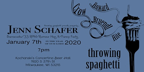 Throwing Spaghetti  with special guest - Jenn Schafer tickets