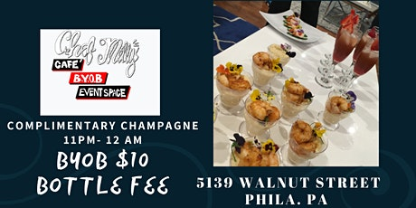 NEW YEARS EVE @ CHEF MILLYS CAFE tickets