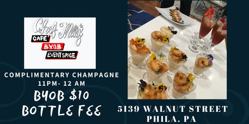 NEW YEARS EVE @ CHEF MILLYS CAFE
