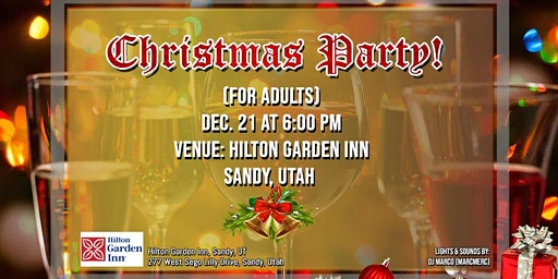 Christmas Party! (For Adults)