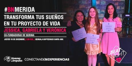 """""""Transforma tus sueños en tu proyecto de vida"""" con SEIRINA boletos"""