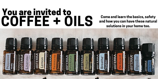 Essential Oil Basics Workshop: Learn how to feel better NATURALLY!
