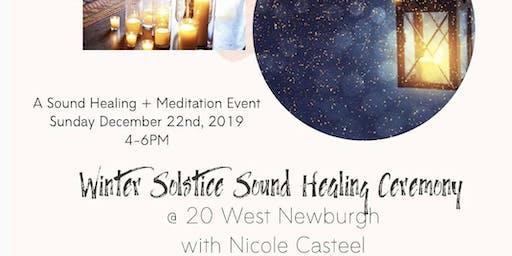 Winter Solstice Healing Sound Ceremony