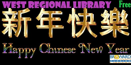 Chinese New Year at West Regional Library: Chinese Feng Shui Bagua tickets