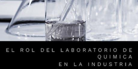 QC Laboratory: El Laboratorio de Química en la Industria (Online Meeting) entradas