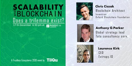 Does the blockchain scalability trilemma  exist? tickets