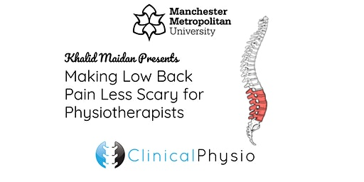 Making Low Back Pain Less Scary for Physio's @ MMU