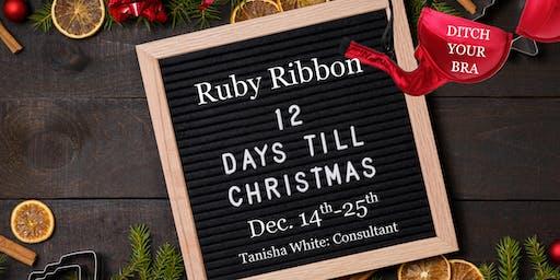 Ruby Ribbon 12 Days Till Christmas-Tanisha White
