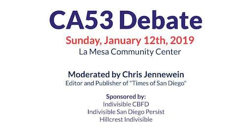 CA53 Debate