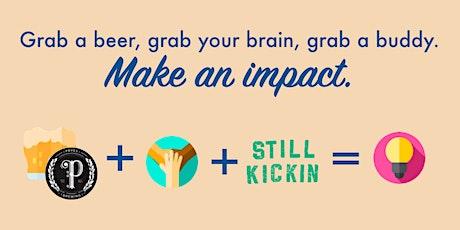 Sip & Solve + Still Kickin: Volunteer with a Beer tickets