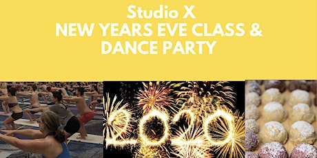 Studio X New Years Eve Class & Dance Party tickets