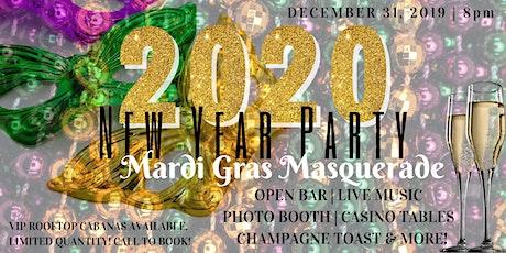 The Hotel Zamora's New Year's Eve 2019 | MARDI GRAS MASQUERADE tickets