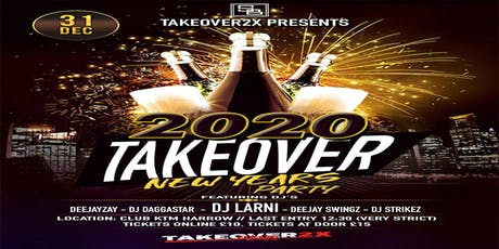 2020 New Years Takeover tickets