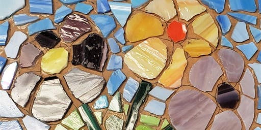 Ring of Care Glass Mosaic Workshop 2/9/2020