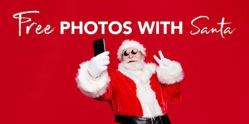 FREE Photos with Santa Claus!