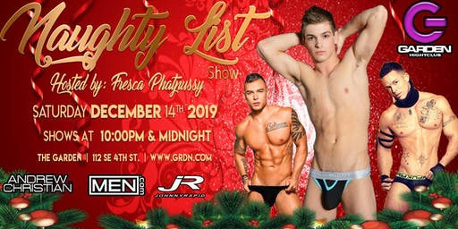 The Naughty List Show featuring Johnny Rapid