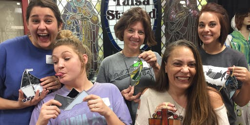 Wacky Wednesday Stained Glass Workshop 2/19/2020