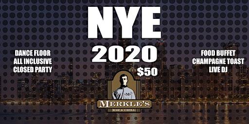 New Years Eve at Merkle's 2020!