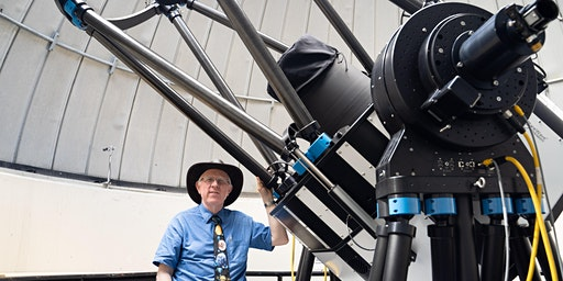 Free Public Viewing of the night sky at the Allan I Carswell Observatory