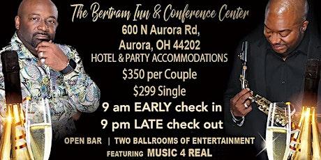 NYE 2020 all Inclusive Hotel Room, Dinner Buffet, Open Bar, Live Music, DJ tickets