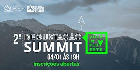 Degustação Summit INI ingressos